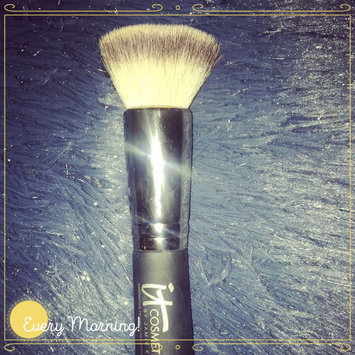 Photo of IT Cosmetics® Heavenly Luxe™ Flat Top Buffing Foundation Brush #6 uploaded by Candace W.