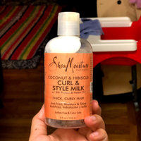 SheaMoisture Coconut & Hibiscus Curl & Style Milk uploaded by Carol O.
