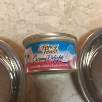 Fancy Feast® Creamy Delights Salmon Cat Food With A Touch Of Real Milk In A Creamy Sauce uploaded by Victoria O.