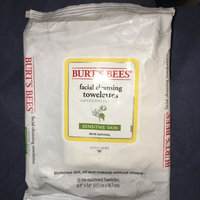 Burt's Bees Sensitive Facial Cleansing Towelettes with Cotton Extract uploaded by Megan C.
