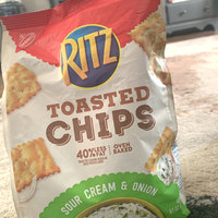 Nabisco RITZ Sour Cream & Onion Toasted Chips uploaded by jasmine Y.