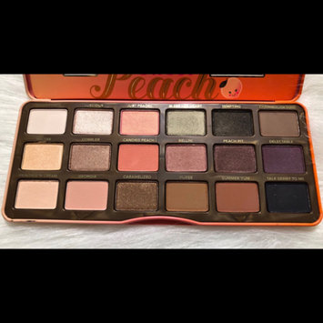 Photo of Too Faced Sweet Peach Eyeshadow Collection Palette uploaded by Kelly M.
