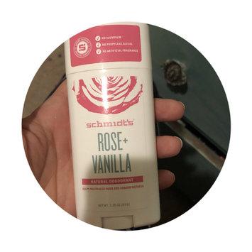 Photo of Schmidt's Natural Deodorant Fragrance Free 3.25 oz uploaded by Ashley J.