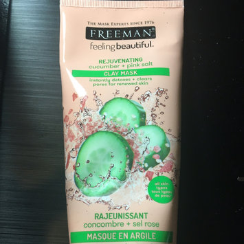 Photo of Freeman Feeling Beautiful Rejuvenating Clay Mask, Cucumber + Pink Salt 6 oz uploaded by Tiffany C.