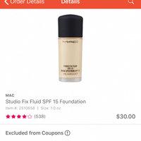 M.A.C Cosmetics Pro Longwear Foundation uploaded by Ashlynn K.