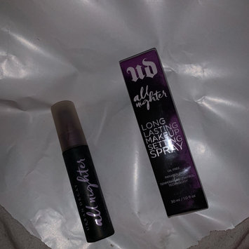 Photo of Urban Decay All Nighter Long-Lasting Makeup Setting Spray uploaded by Abby Q.