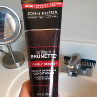 John Frieda® Brilliant Brunette Colour Protecting Moisturising Conditioner uploaded by Amy D.