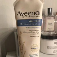 Aveeno Active Naturals Skin Relief with Soothing Oat Essence Moisturizing Lotion uploaded by Trenice K.