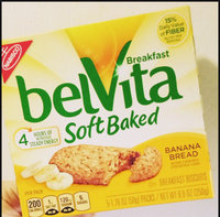Nabisco belVita Soft Baked Banana Bread uploaded by Megan J.