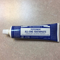 Dr. Bronner's Peppermint All-One Toothpaste uploaded by Tabatha H.
