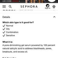 Caudalie Vinopure Natural Salicylic Acid Pore Minimizing Serum uploaded by Sarah B.