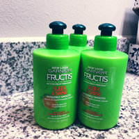 Garnier Fructis Sleek & Shine Intensely Smooth Leave-In Conditioning Cream uploaded by Maricela D.