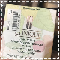 Clinique Stay-Matte Sheer Pressed Powder uploaded by LEAR 25680 PATRICIA T.