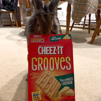 Cheez-It Grooves® Sharp White Cheddar uploaded by Alison Y.