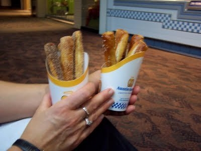 Auntie Anne's Pretzel uploaded by Taylor a.