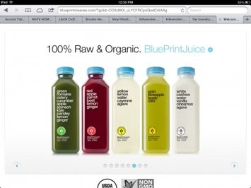 BluePrint Cleanse We Think. You Drink. uploaded by Alexis D.