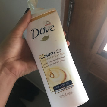 Photo of Dove Cream Oil Shea Butter Body Lotion uploaded by Kaferin R.