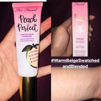 Too Faced Peach Perfect Comfort Matte Foundation - Peaches and Cream Collection uploaded by Mona D.