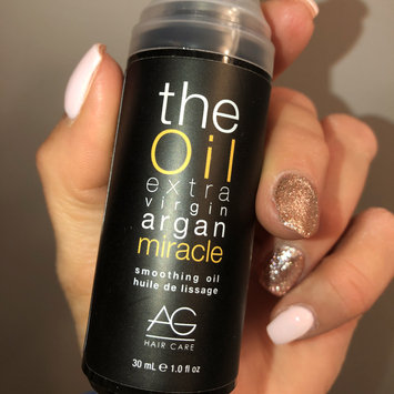 Photo of AG Hair Cosmetics The Oil Extra Virgin Argan Miracle - 0.34 oz uploaded by Desiree S.