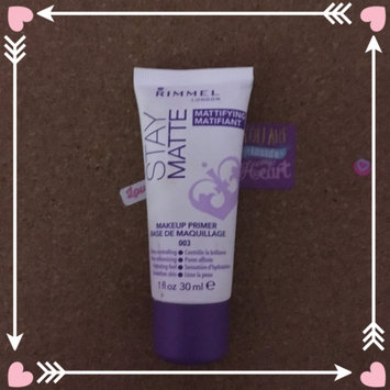 Photo of Rimmel London Stay Matte Primer uploaded by Annabys R.