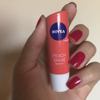 NIVEA Fruity Shine Peach Lip Balm uploaded by ↠ 𝐀.