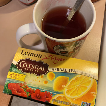 Photo of Celestial Seasonings® Lemon Zinger® Herbal Tea Caffeine Free uploaded by Wendy C.