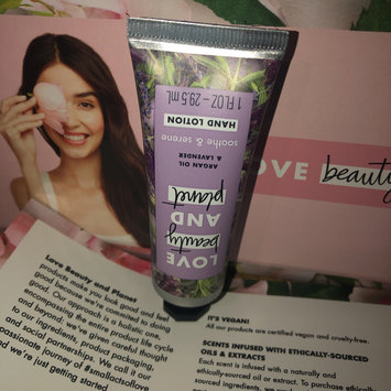 Photo of Love Beauty And Planet Argan Oil & Lavender Hand Lotion uploaded by Lulu S.