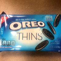 Oreo Sandwich Cookies Chocolate Thins uploaded by Seema K.