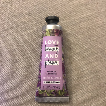 Photo of Love Beauty And Planet Argan Oil & Lavender Hand Lotion uploaded by Isa W.