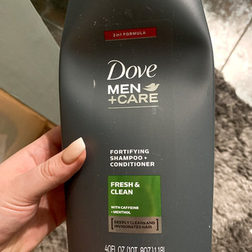 Photo of Dove Men+Care Fresh & Clean Fortifying 2-In-1 Shampoo + Conditioner uploaded by Mallory D.
