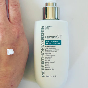 Photo of Peter Thomas Roth Peptide 21™ Lift & Firm Moisturizer uploaded by Michaela H.