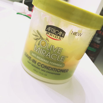 Photo of African Pride Olive Miracle Leave in Conditioner, 15 oz uploaded by Maria A.