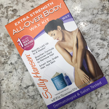 Sally Hansen® Extra Strength All Over Body Wax Hair Removal Kit