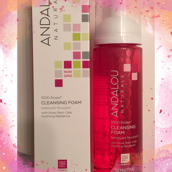 Photo of Andalou Naturals 1000 Roses Cleansing Foam, 5.5 fl oz uploaded by Nicole F.