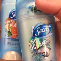 Secret Antiperspirant & Deodorant Invisible Solid, Hawaii Citrus Breeze, 2.6 oz uploaded by Whitney A.