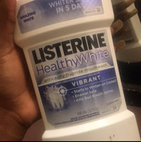LISTERINE Whitening HealthyWhite Vibrant Anticavity Mouthrinse, Clean Mint, 32 fl oz uploaded by Jontill C.