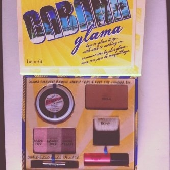 Benefit Cosmetics Greeting from Cabana Glama uploaded by Maria N.