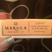 Marula Intensive Hair Treatment & Styling Oil uploaded by Michelle D.