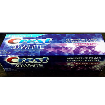 Photo of Crest 3D White Whitening Toothpaste Radiant Mint uploaded by Crystal G.