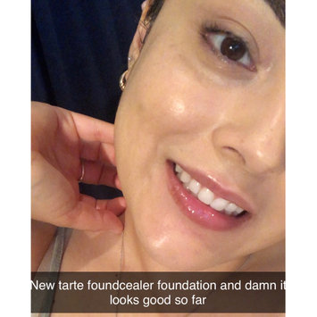 Photo of tarte™ babassu foundcealer™ skincare foundation Broad Spectrum SPF 20 uploaded by Melissa V.