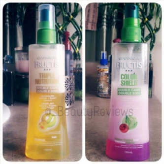 Photo of Garnier Fructis Haircare Triple Nutrition Nutrient Spray for Dry to Over-Dried or Damaged Hair uploaded by Kat V.