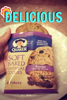 Photo of Quaker® Soft Baked Oatmeal Cookie uploaded by Jennifer S.