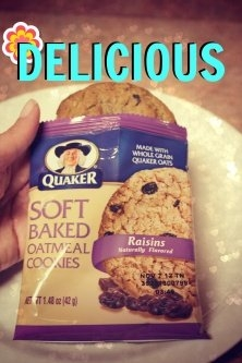 Quaker Soft Baked Oatmeal Cookie uploaded by Jennifer S.