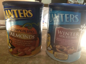 Photo of Planters  Nut-Rition Almonds Canister uploaded by christie p.