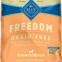 THE BLUE BUFFALO CO. BLUE™ Freedom® Grain-Free Chicken Recipe For Large Breed Puppies uploaded by Lacey A.