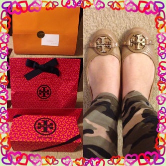 Photo of Tory Burch Flat Shoes uploaded by Maria T.