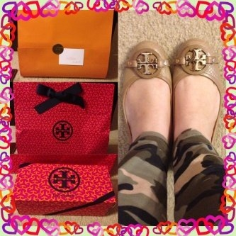 Tory Burch Flat Shoes uploaded by Maria T.