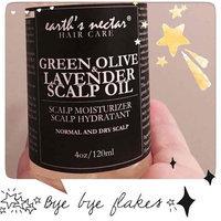 Earth's Nectar Green Olive & Lavender Scalp Oil 4 oz uploaded by Elaine M.