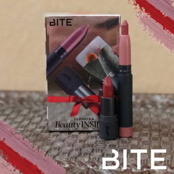 Photo of Bite Beauty Matte Crème Lip Crayon uploaded by Tricia C.