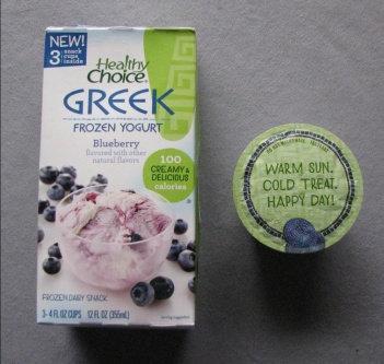 Photo of Healthy Choice Greek Frozen Yogurt uploaded by Jessica F.
